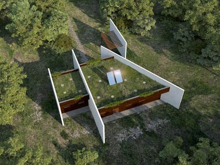Luis de garrido artificial nature architecture puntafinanews - Houses woods nature integrated ...