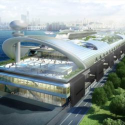 Hong Kong's new cruise terminal, © Foster + Partners